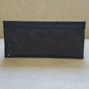 FAUX Snake skin Cosmetic Bag